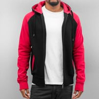 Cyprime Basic Zip Hoody Black/Red