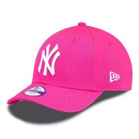 DETSKÁ NEW ERA 9FORTY YOUTH MLB LEAGUE BASIC NEW YORK YANKEES PINK WHITE