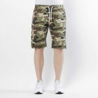 Mass Denim Base Shorts Pants straight fit woodland camo