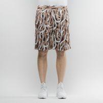 Mass Denim Shorts Mesh Creep brown SS 2017