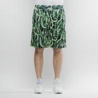 Mass Denim Shorts Mesh Creep green SS 2017