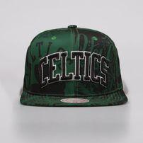 433cda72ff64 Mitchell   Ness Boston Celtics Snapback Cap green Process Snapback