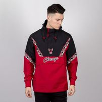 bc8448546c6bf Mitchell & Ness jacket Chicago Bulls Half Zip Team Colour Anorak Jacket red  / black
