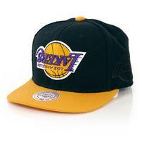 Mitchell & Ness NBA Upside Down LA Lakers Snapback Black