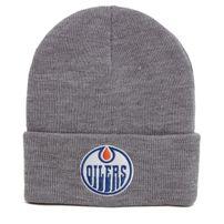Zimná čiapka Mitchell & Ness NHL Team Logo Cuff Knit Beanie Edmonton Oilers