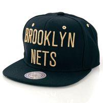 Mitchell & Ness Team Gold Brooklyn NEts Snapback MN-NBA-EU173