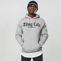 Mr. Tee Thug Life Old English Hoody grey