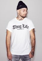 Mr. Tee Thug Life Old English Tee white