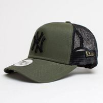 Šiltovka New Era 9Forty A Frame Trucker Cap Essential NY Yankees Army Green f564c55486