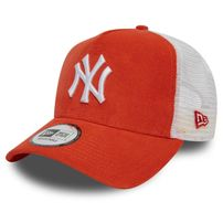 Šiltovka New Era 9Forty A Frame Trucker Cap NY Yankees Coral Cord Orange