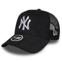 Šiltovka New Era 9Forty A Frame Trucker Cap NY Yankees Micro Cord Black