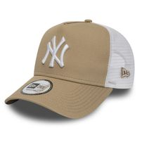 Šiltovka New Era 9Forty A Frame Trucker Essential NY Yankees Camel
