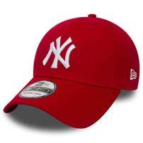 Šiltovka New Era 9Forty MLB League Basic NY Yankees Scarlet White