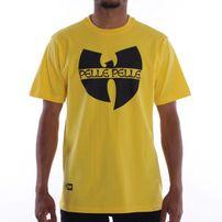 Pánske Tričko Pelle Pelle Wu-Tang Bat Logo Mix Tee Yellow