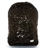 Ruksak Spiral Diamond Sequins Backpack bag Black