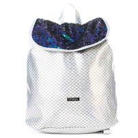 Ruksak Spiral Liberty Ariel Sequins Silver Backpack Bag