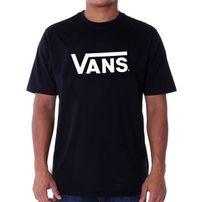 Pánske Tričko Vans MN Vans Classic T-shirt Black White