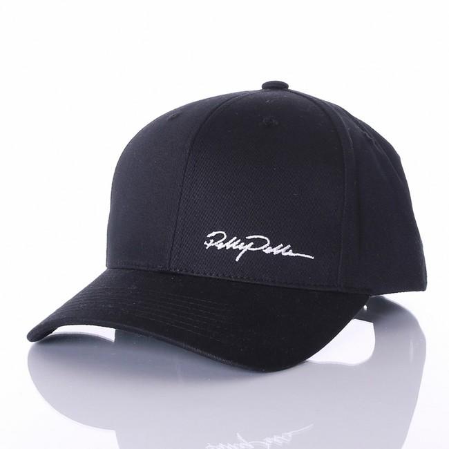 Pelle Pelle Signature curved snapback Black