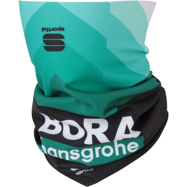 Bufka Sportful Bora Hansgrohe Neckwarmer Black