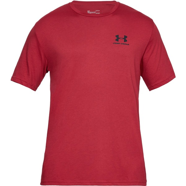 Under Armour SPORTSTYLE LEFT CHEST SS-RED - M