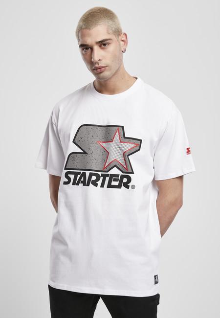 Starter Multicolored Logo Tee white/grey - S
