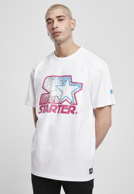 Starter Multicolored Logo Tee white/pink - S