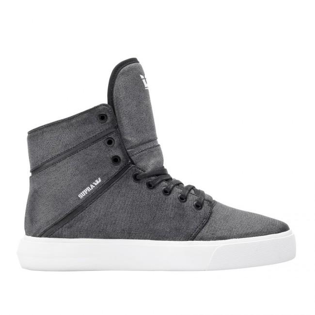 Supra Camino Washed Grey Black White - 42