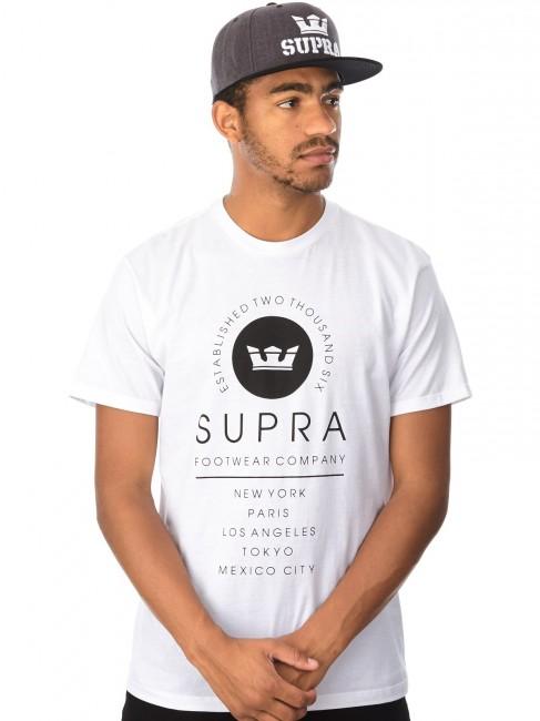 Supra Caske White - Gangstagroup.sk - Online Hip Hop Fashion Store 49dc05d7661