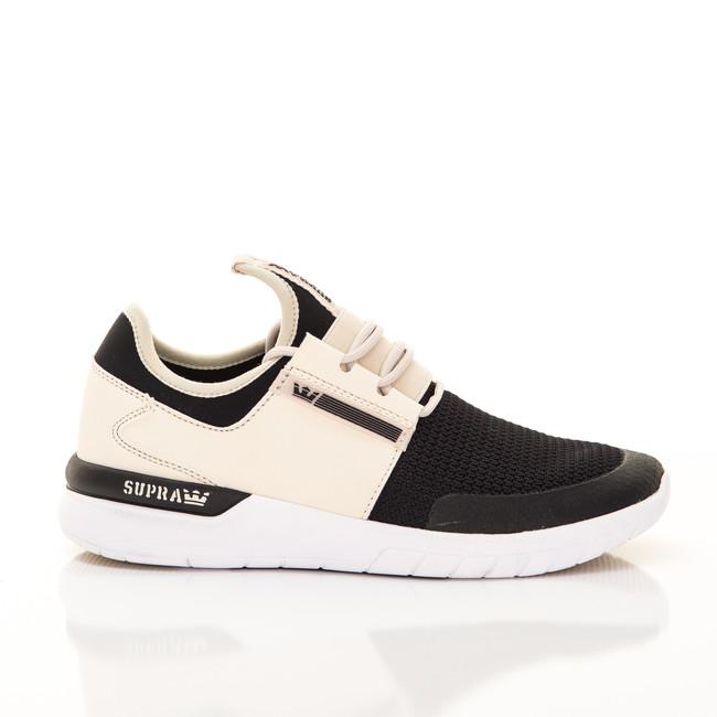 Supra Flow Run Cream Black White - 42.5