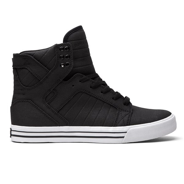 Supra Skytop Black White - 45
