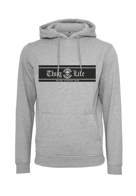 Thug Life Thug Life Box Logo Hoody grey