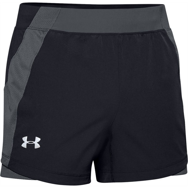Under Armour UA QUALIFIER SPEEDPOCKET 5'' SHORT-BLK - XXL