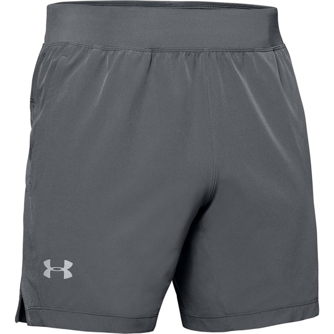 Under Armour UA SPEEDPOCKET LINERLESS 7'' SHORT-GRY - XXL