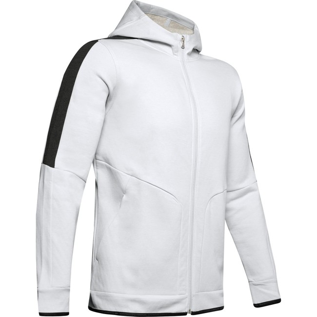 Under Armour Athlete Recovery Fleece Full Zip-GRY - L