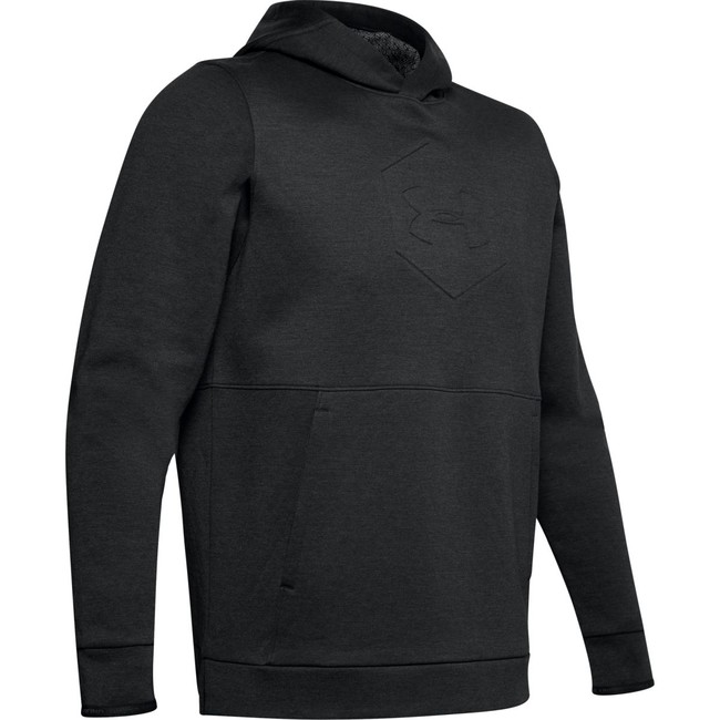 Under Armour Athlete Recovery Fleece Graphic Hoodie-B - M
