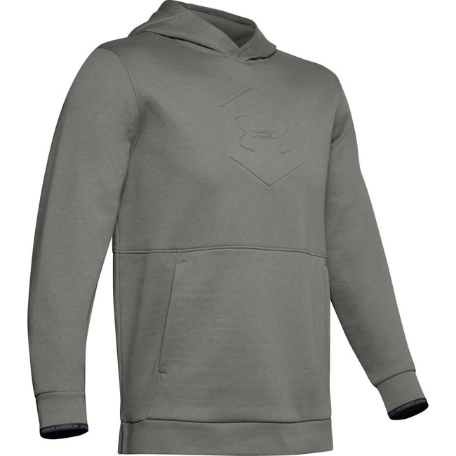 Under Armour Athlete Recovery Fleece Graphic Hoodie-G - M