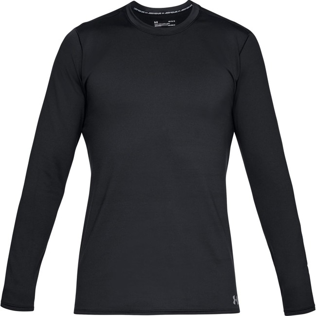 Under Armour Fitted CG Crew-BLK - S