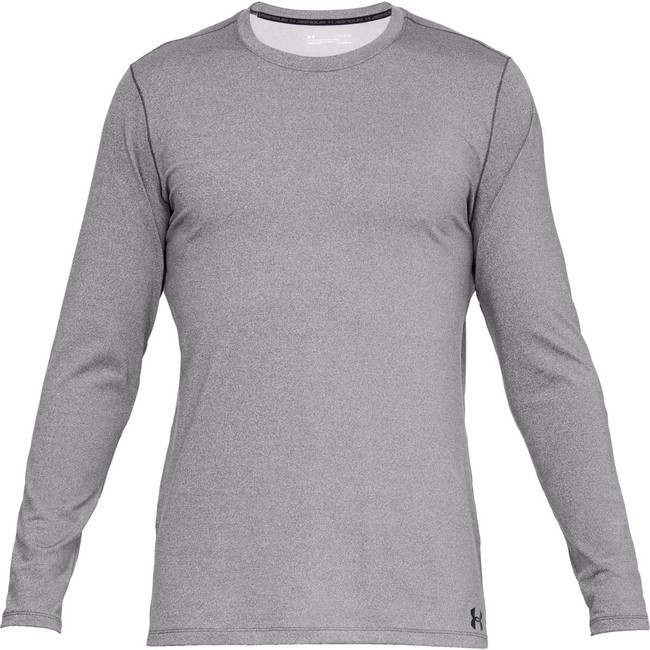 Under Armour Fitted CG Crew-GRY - S