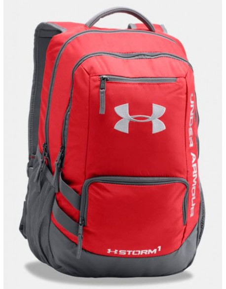 UNDER ARMOUR Hustle Backpack II Red / Graphite - UNI