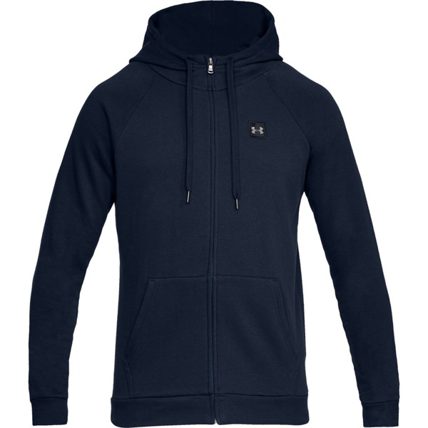 Under Armour RIVAL FLEECE FZ HOODIE-NVY - S