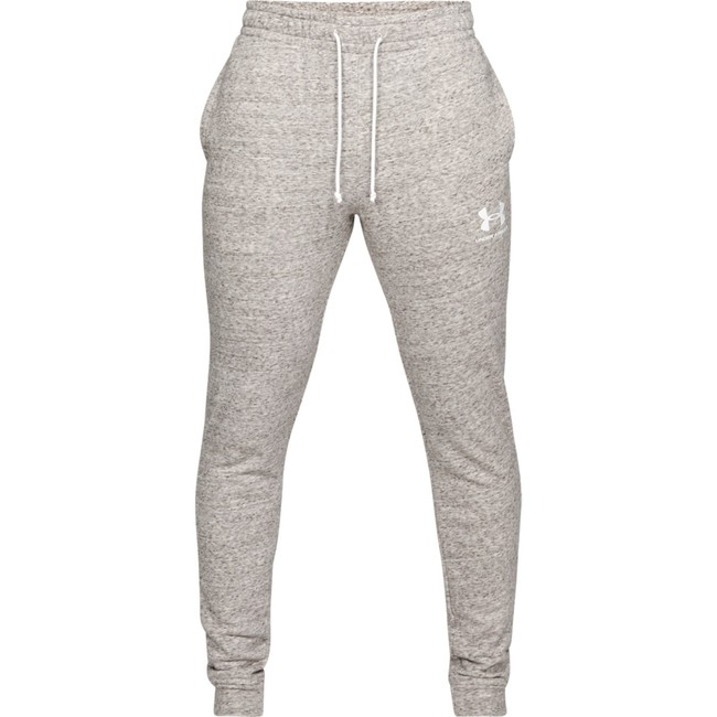 Under Armour SPORTSTYLE TERRY JOGGER-WHT - XXL