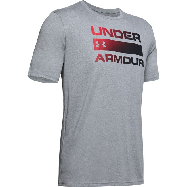 Under Armour UA TEAM ISSUE WORDMARK SS-GRY - XXL