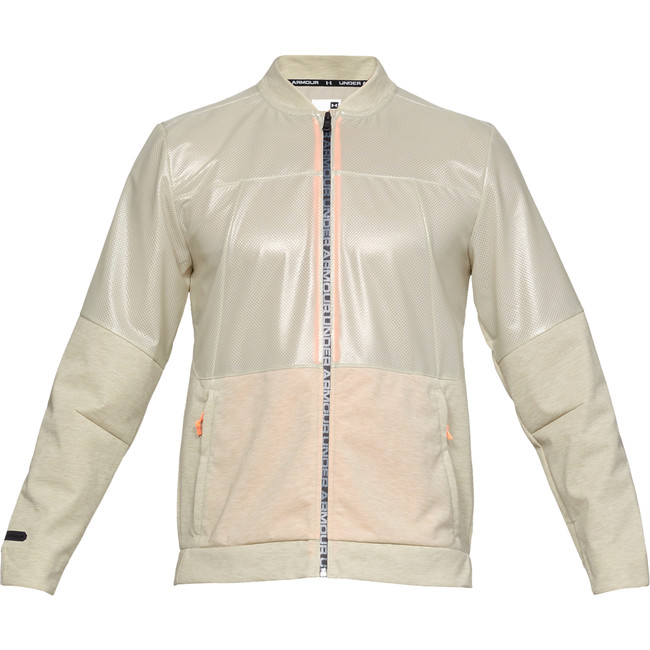 Under Armour UNSTOPPABLE SWACKET BOMBER-BRN - XL
