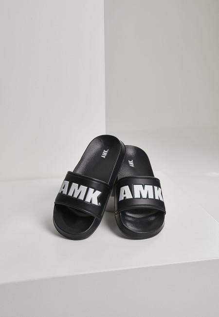 Urban Classics AMK Slides blk/wht