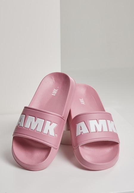 Urban Classics AMK Slides pink/white - 37