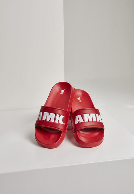 Urban Classics AMK Slides red/white - 37