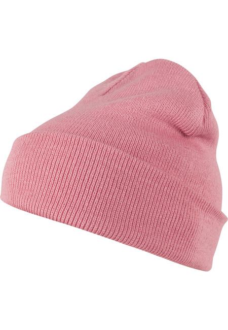 Urban Classics Beanie Pastel Basic Flap light pink - UNI