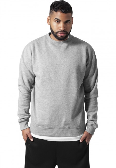 urban classics crewneck sweatshirt grey gangstagroupsk