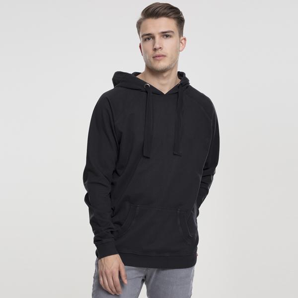 Pánska mikina Urban Classics Garment Washed Terry Hoody darkgrey - XL