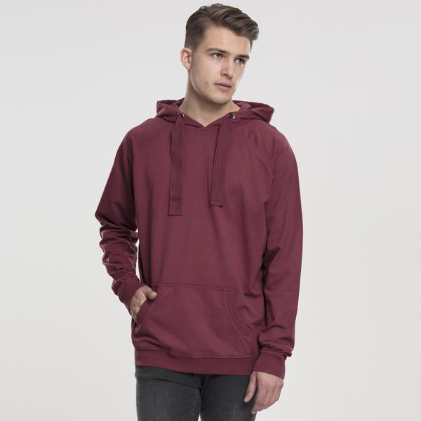 Pánska mikina Urban Classics Garment Washed Terry Hoody rusty - XL